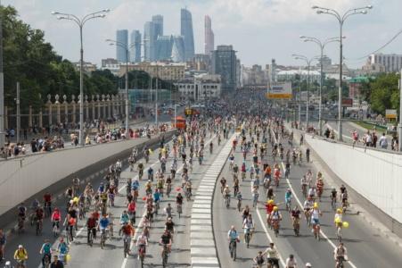28 мая 2017 года состоится большой Московский Велопарад