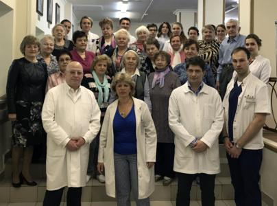 19 мая в ГБУЗ «НИКИО им. Л.И. Свержевского» ДЗМ состоялся традиционный день встречи с ветеранами
