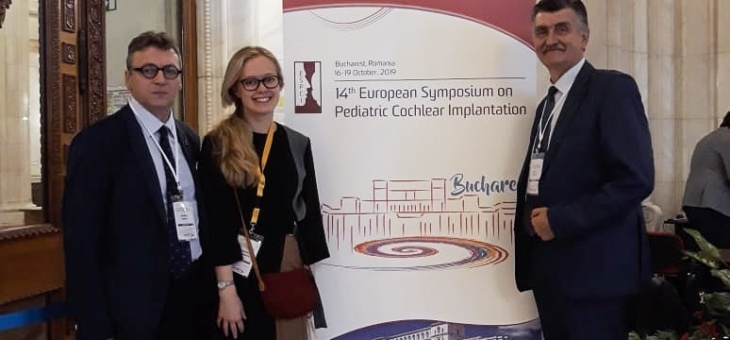 С 16 по 19 октября в Бухаресте прошёл 14 Европейский Симпозиум Детской Кохлеарной Имплантации