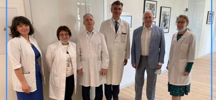 Торжественное открытие Кадрового центр Департамента здравоохранения Москвы