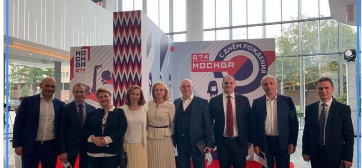 В 2021 году москвичи отмечают 874-летие столицы.